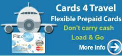 Pre-Paid credit card for travel